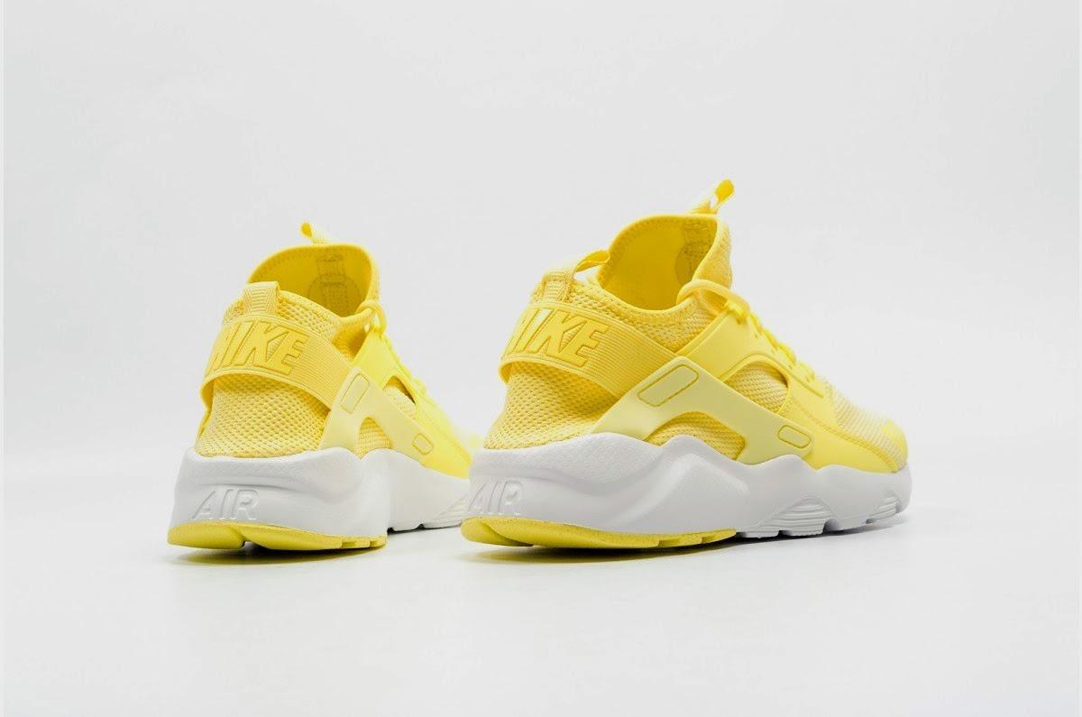 nike huarache mujer amarillas