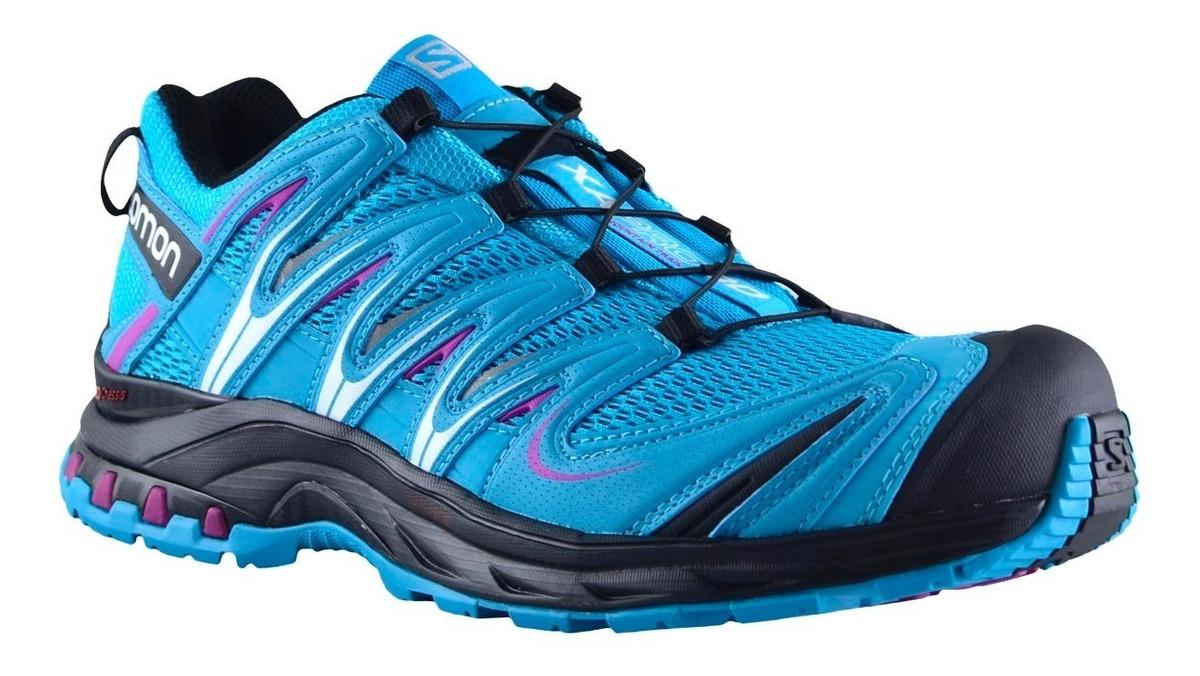 3d7fa780 Zapatillas Mujer Salomon Trail Running Xa Pro 3d Bl/bl - $ 5.970,00 ...