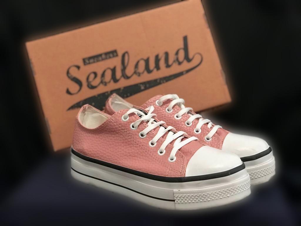 0df8d89951b Zapatillas Mujer Sealand Color Rosa En Caja -   700