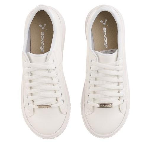zapatillas mujer sneakers blancas moda plataforma moda heben