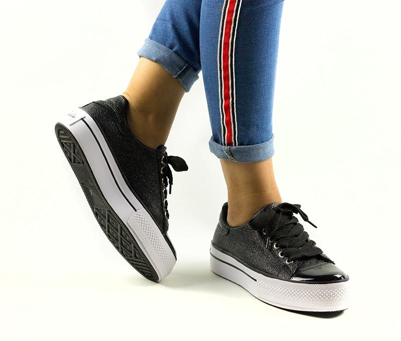 zapatillas mujer tipo converse