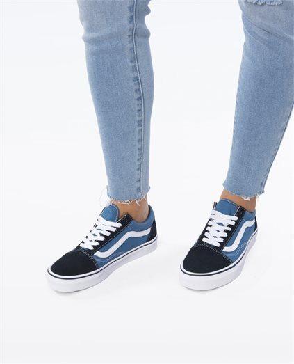 zapatillas vans mujer celeste