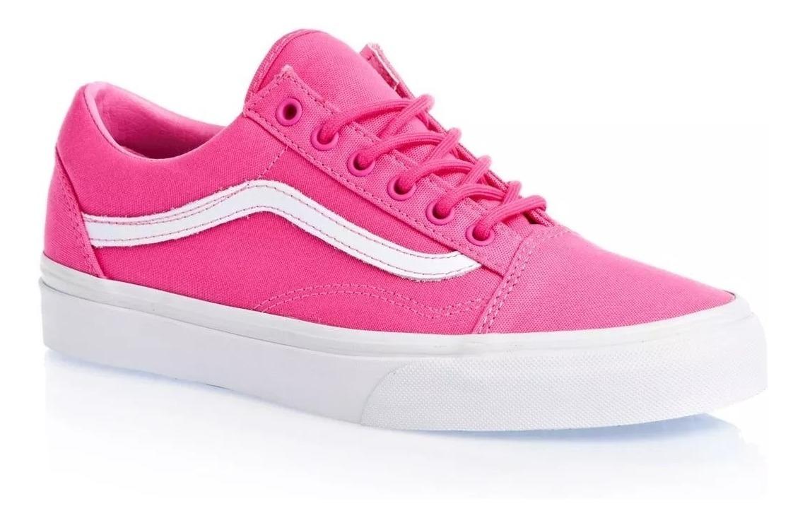 zapatillas mujer vans rosas