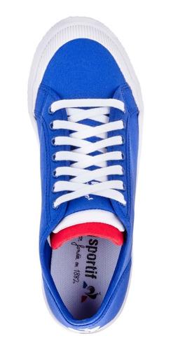 zapatillas nationale azul unisex le coq sportif original