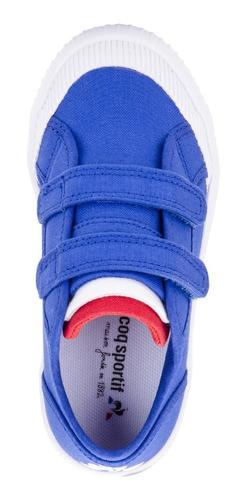 zapatillas nationale kids azul kids le coq sportif original