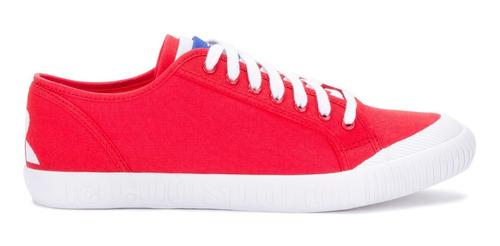 zapatillas nationale rojo unisex le coq sportif original