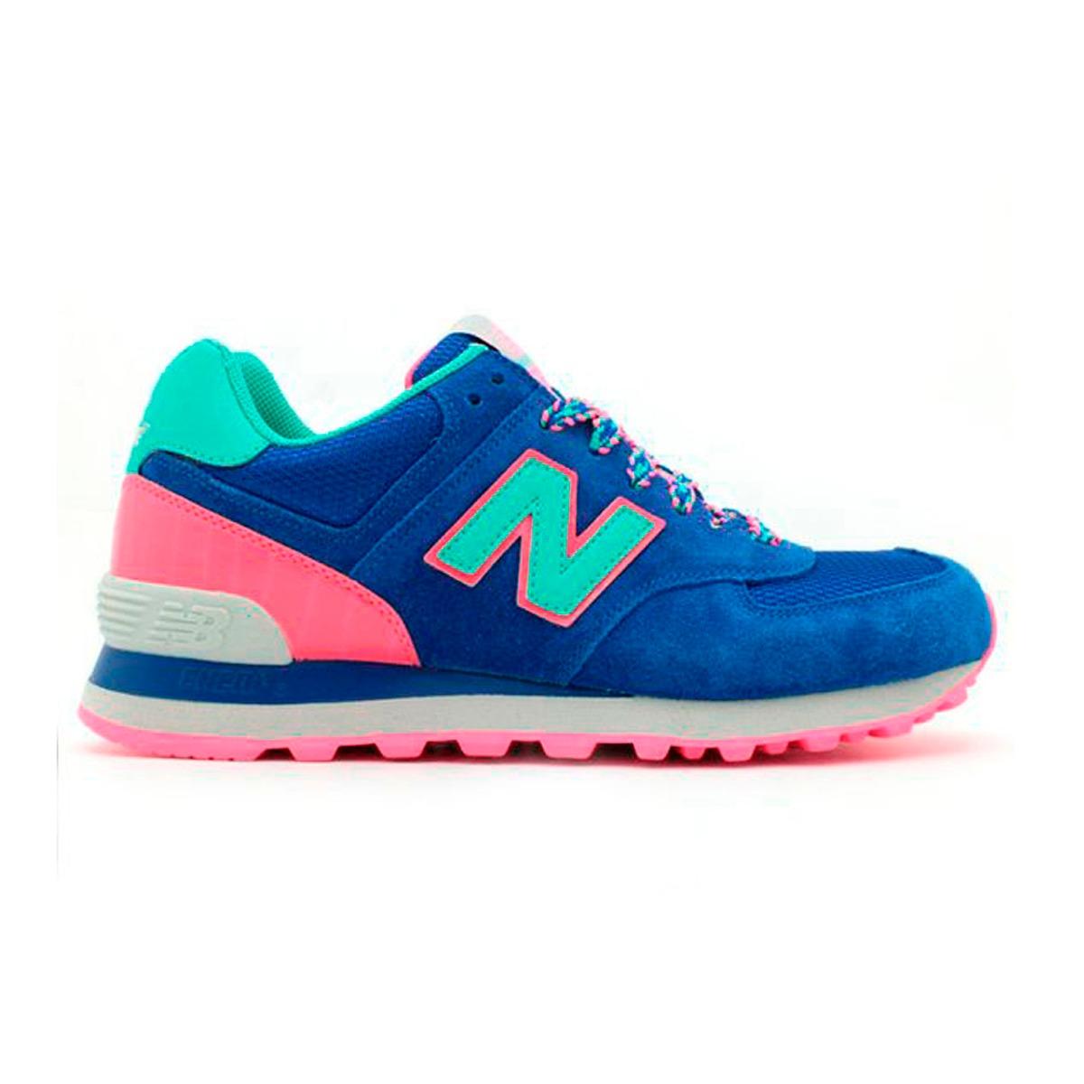 new balance mujer 574 rosa y azul