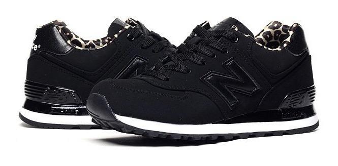 zapatillas new balance 574 negras mujer