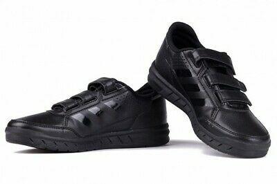 zapatillas negras adidas niños