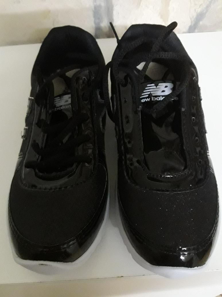 zapatillas negras new balance mujer