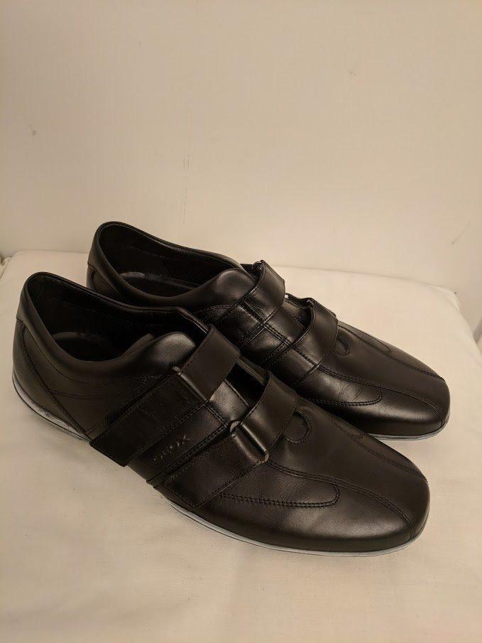 bf7d50d8 zapatillas negras geox talle 45 calzado masculino fashion. Cargando zoom.