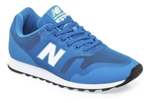 Zapatillas New Balance 373 Hombre - Azul