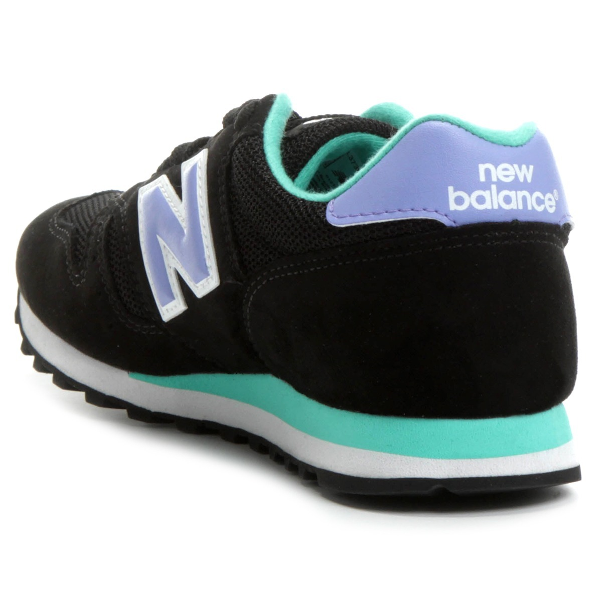 new balance mujer negras 373
