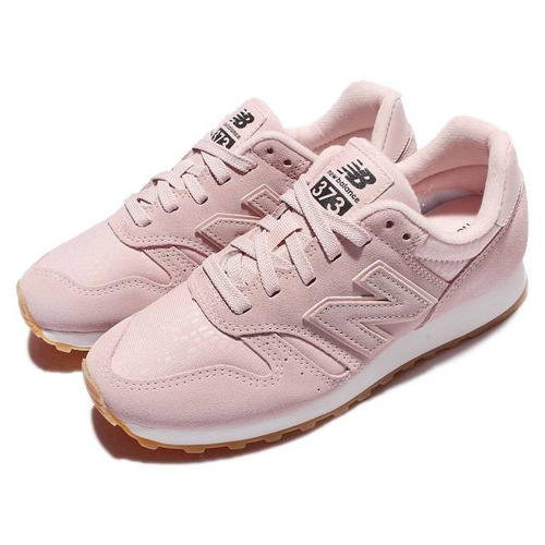 Zapatillas New Balance 373 Wl373pp Mujer Rosa