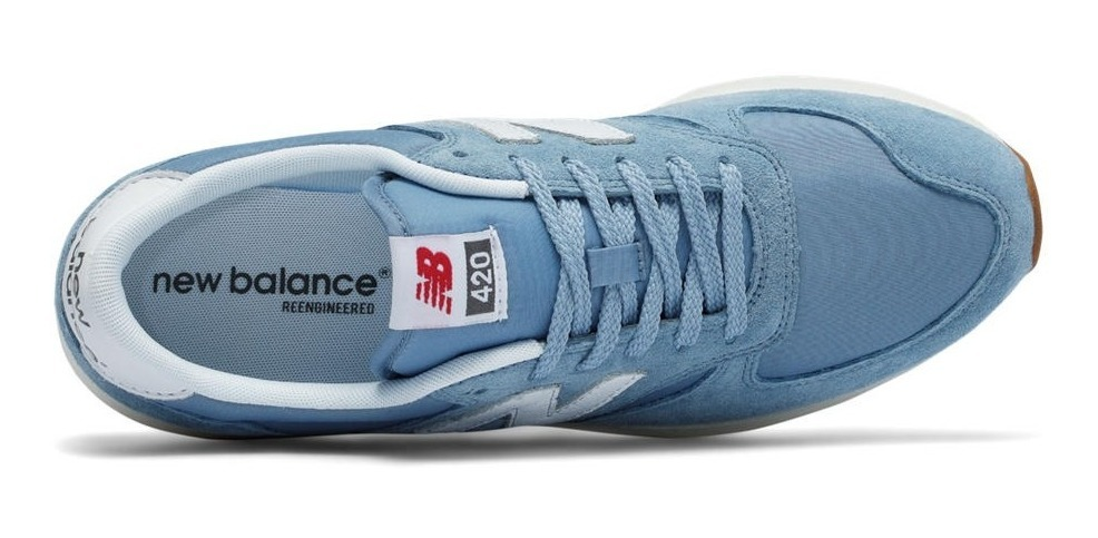new balance suede hombre