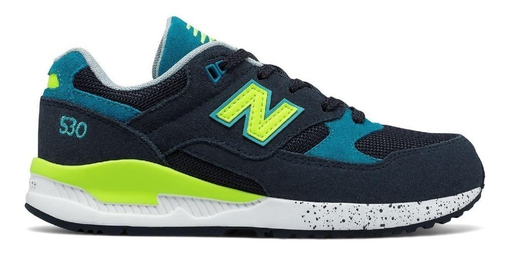 new balance niños azul