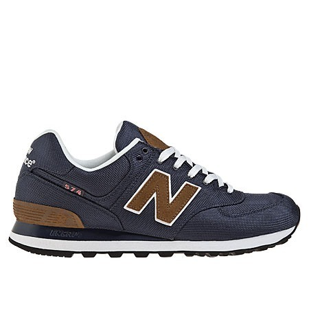 new balance beige y marron