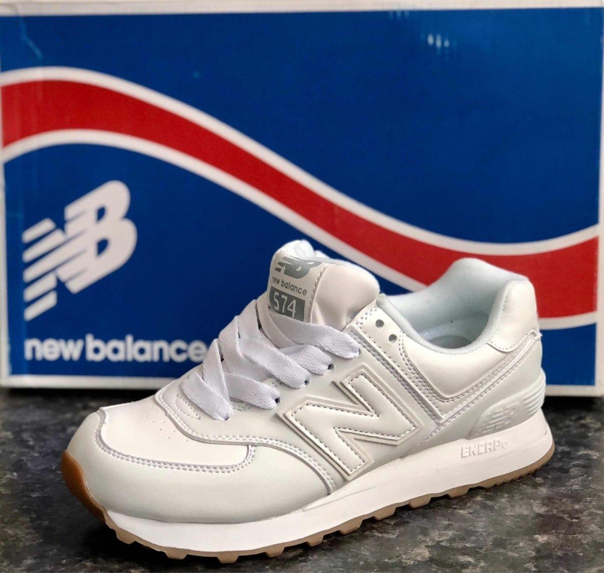 zapatillas new balance 574 blancas mujer