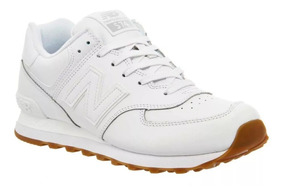 Zapatillas New Balance 574 Blancas Original Oferta!!!