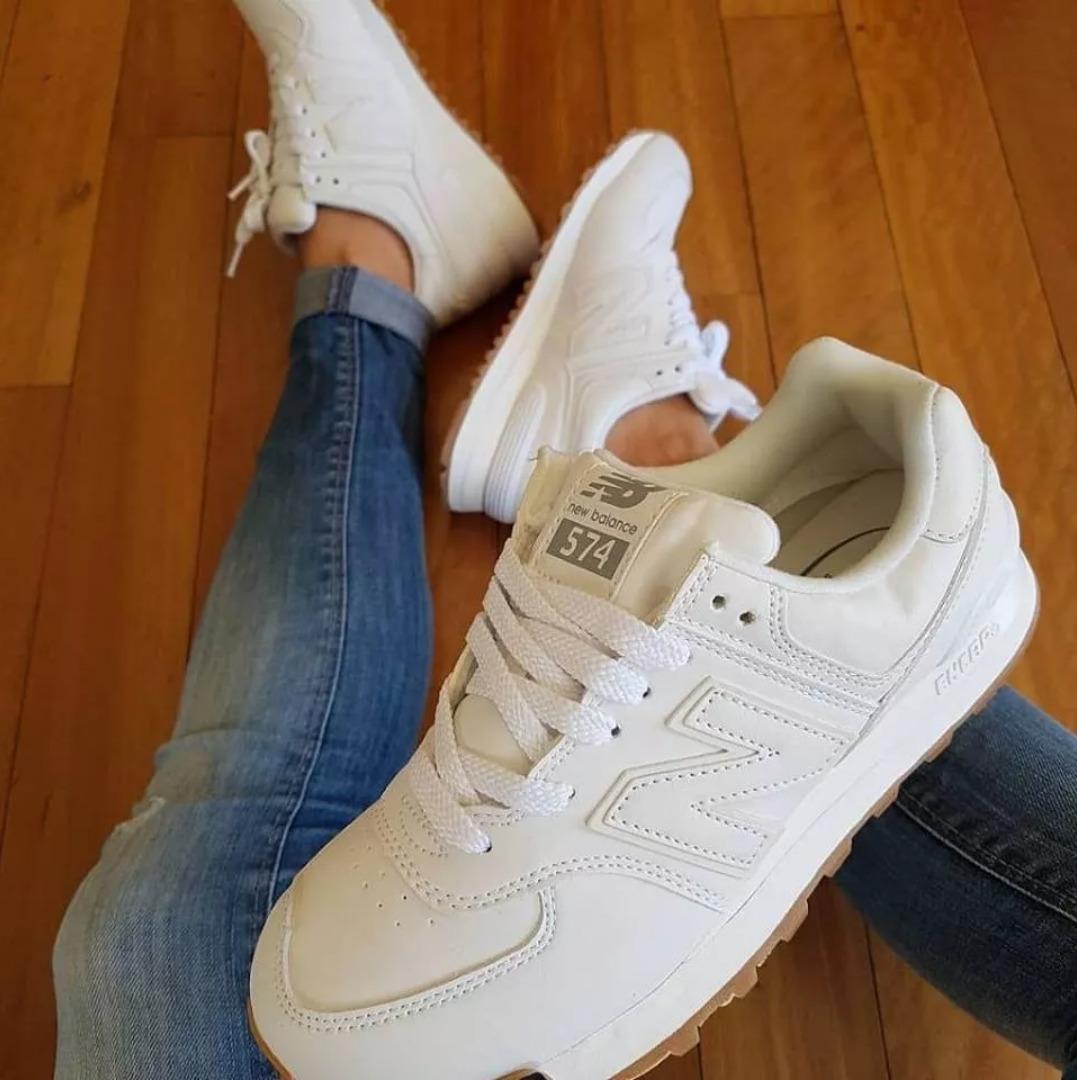 zapatillas new balance mujer 574 blancas