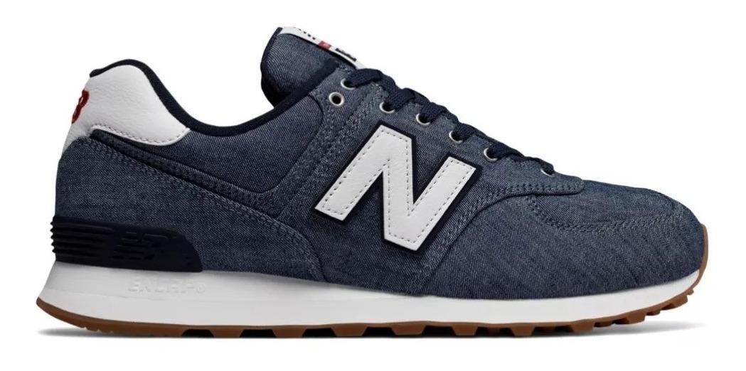 new balance 574 hombres azules