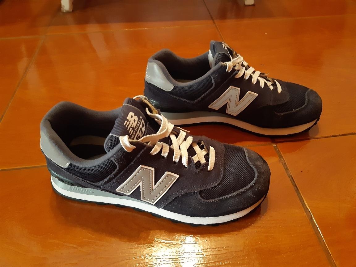 new balance 574 azul hombres zapatillas