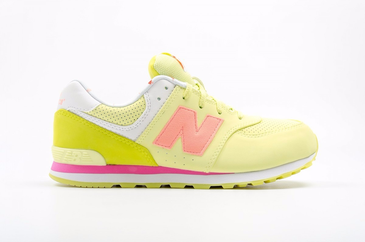 new balance amarillas