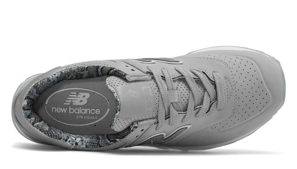 zapatillas mujer new balance 574 gris
