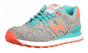 zapatillas new balance mujer gris y rosa