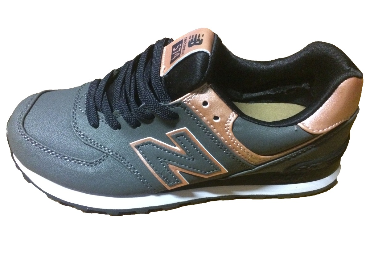 new balance mujer gris 574
