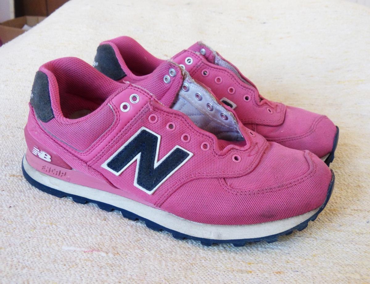 zapatillas new balance 574 mujer rosas
