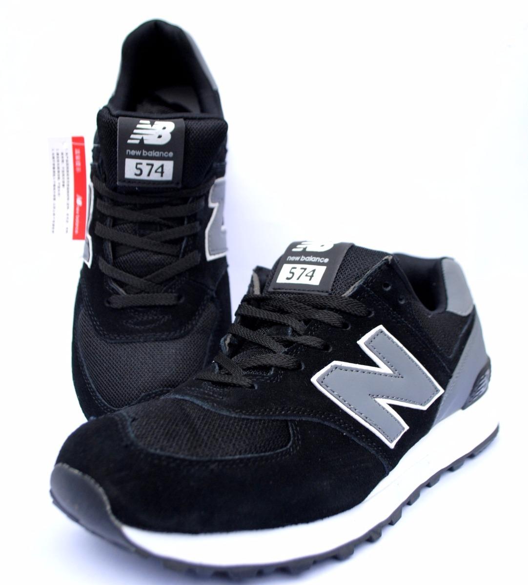 new balance negras 574 hombre