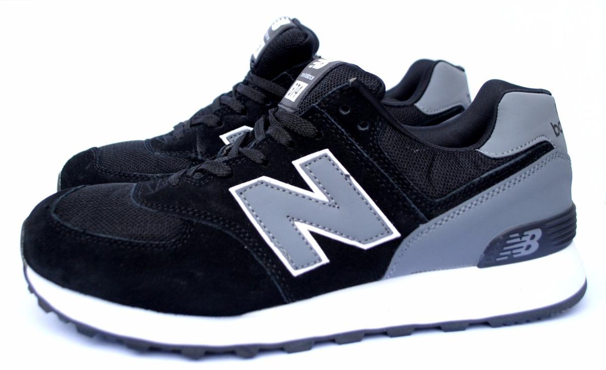 zapatillas new balance neras hombres