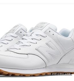 new balance zapatillas cuero mujer