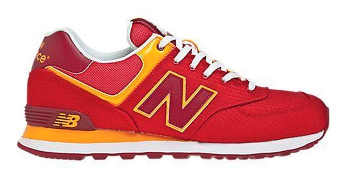 zapatillas new balance rojas de mujer