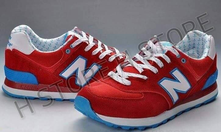 new balance rojas y azules mujer