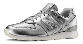 zapatillas new balance plateadas