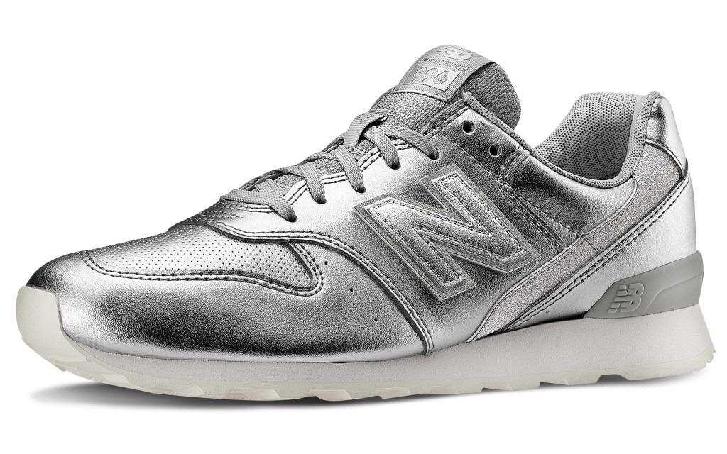 b1d293f9a4d zapatillas new balance 996 plateadas-importadas. Cargando zoom.