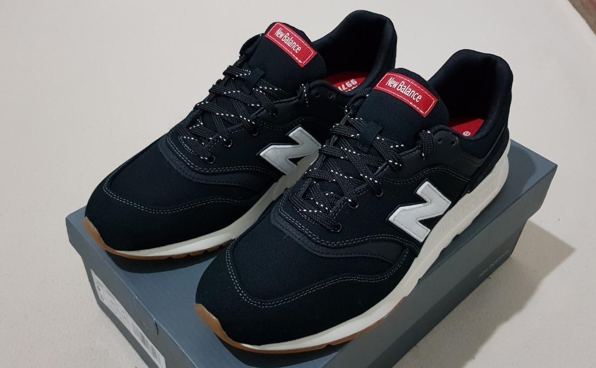 Zapatillas New Balance 997 H Hombre Negras 9 Us Nuevas