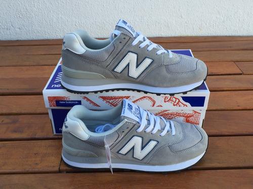 tenis new balance ml574 vintage azul