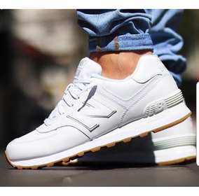 new balance zapatillas blancas hombre