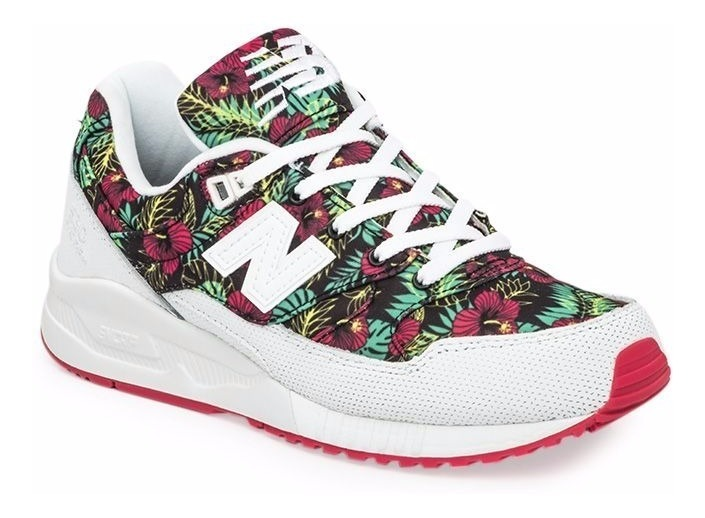 new balance mujer flores zapatillas