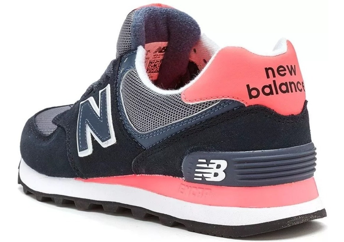 new balance negras y rosas mujer