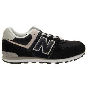 b34abe259 Zapatillas New Balance De Niño Gc574gk Black grey Kids