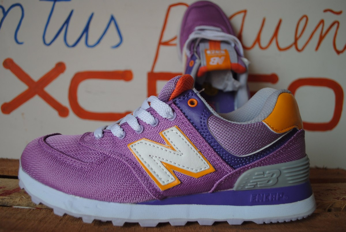 zapatillas new balance lila
