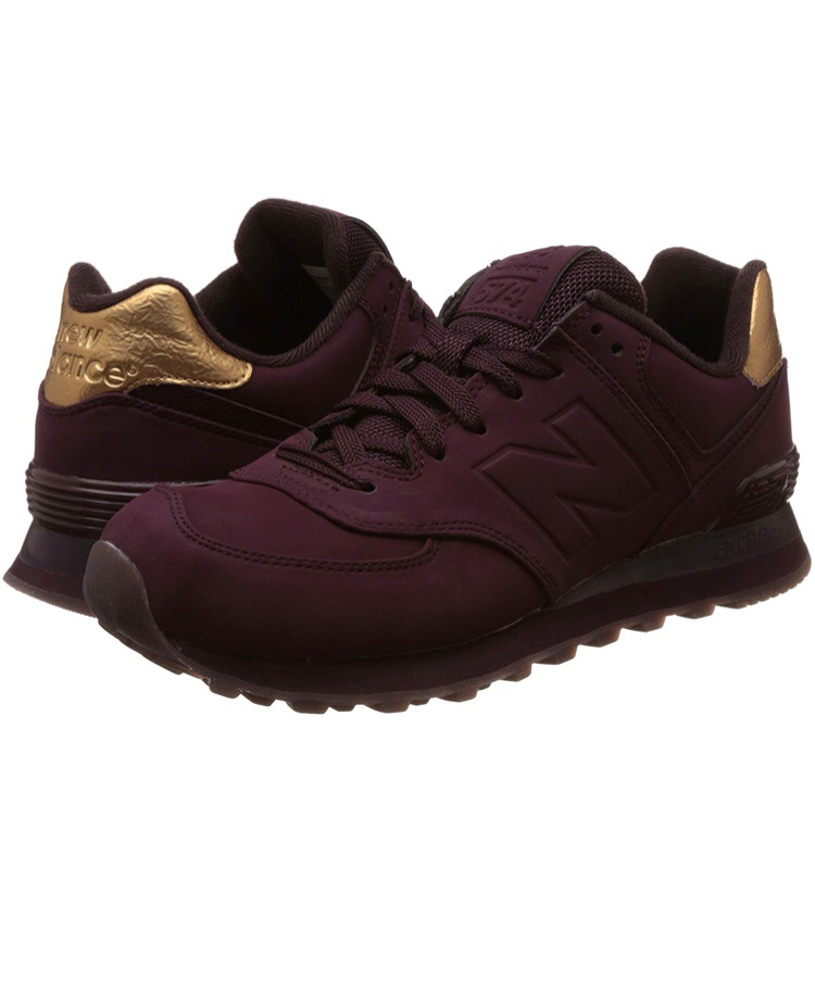 zapatillas new balance metal 574 bordo. Cargando zoom. 9936d52686