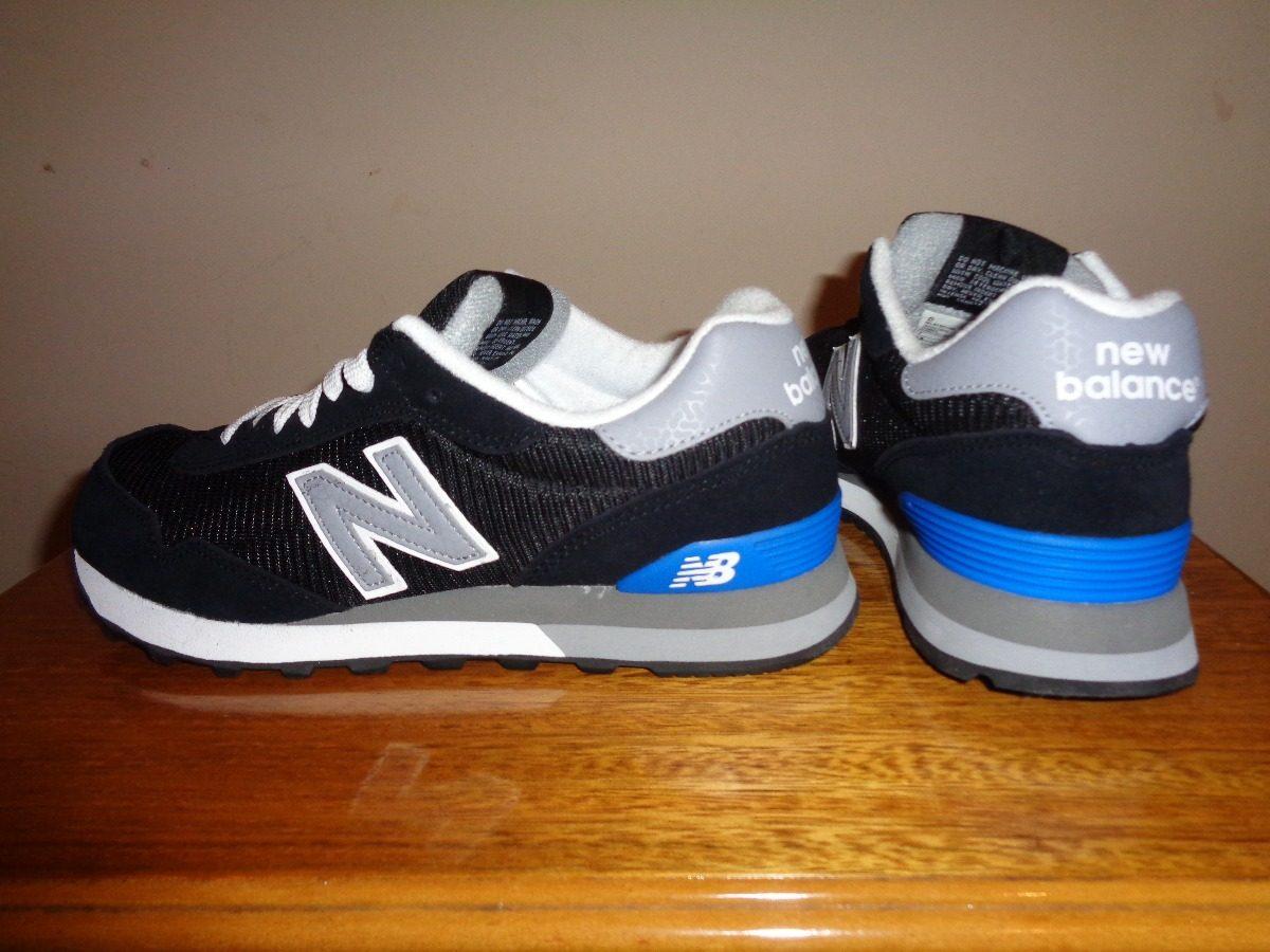 new balance negras y azules