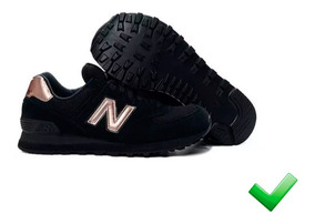 new balance mujer negro