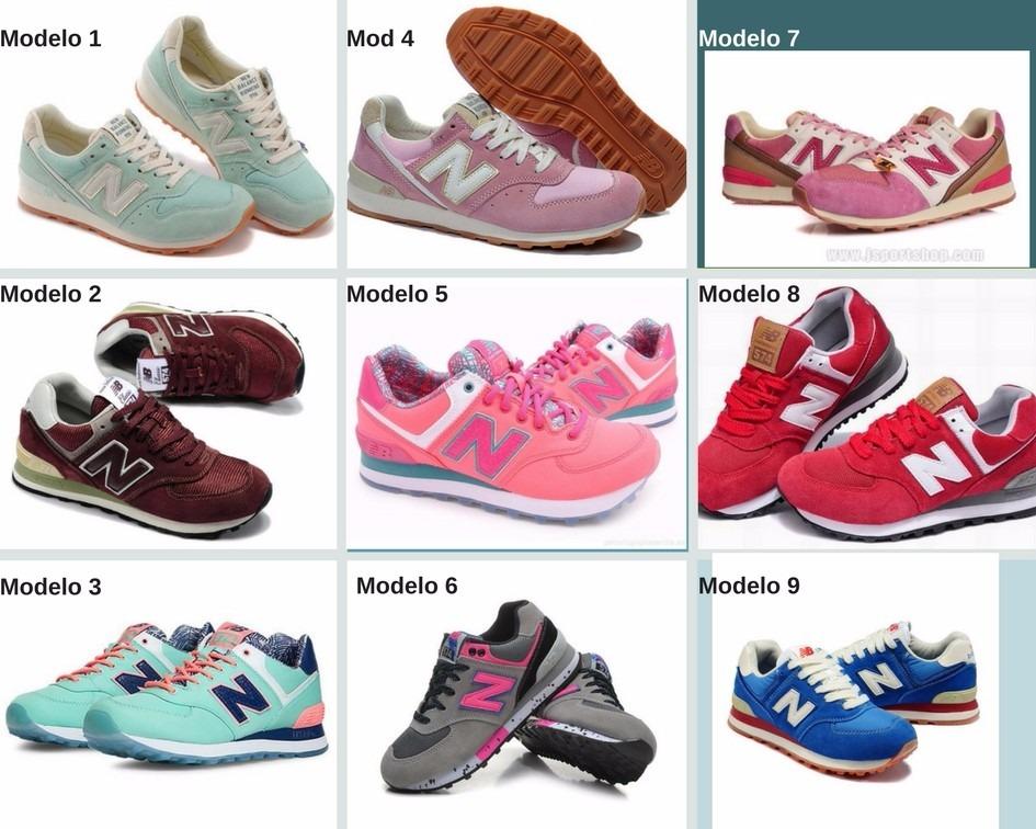modelos de zapatillas new balance de mujer