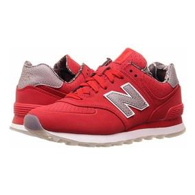 zapatillas mujer rojas new balance